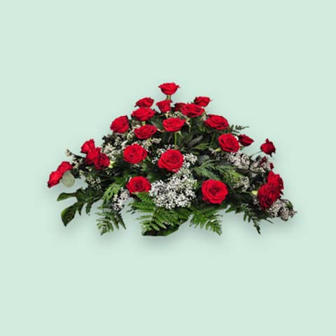 Envío De Coronas De Flores En Madrid Floristería Para Tanatorios
